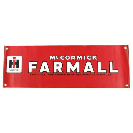 International Harvester Logo >> Vintage International Harvester Mccormick Farmall Logo 10 X 30
