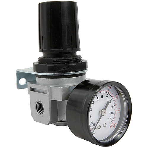 "Bostitch Air Regulator and Gauge, ??"" NPT, #IREGULATOR"