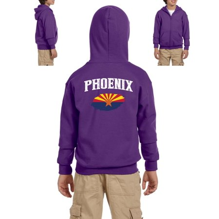Phoenix Arizona Youth Hoodies Zip Up Sweater](Minecraft Zip Up Hoodie Youth)