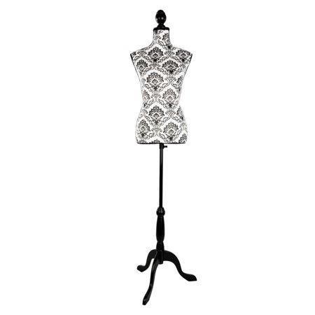 Dressmaker Form - UBesGoo Adjustable Dressmaker Dummy Female Mannequin Display Torso Dress Clothing Fiberglass Sewing Mannequin W/ Tripod Stand