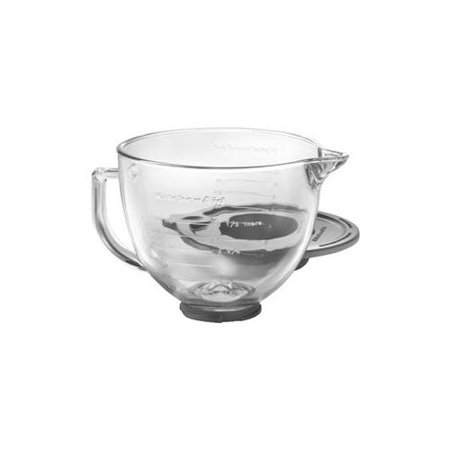 Kitchenaid k5gb 5 quart glass bowl with handle - Kitchenaid glass bowl attachment ...