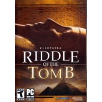 CLEOPATRA: RIDDLE OF THE TOMB PC DVD - Will You Be Able to Win the Trust of Cleopatra?