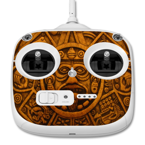 MightySkins Protective Vinyl Skin Decal for DJI Phantom 3 Standard Quadcopter Drone Controller wrap cover sticker skins Carved Aztec