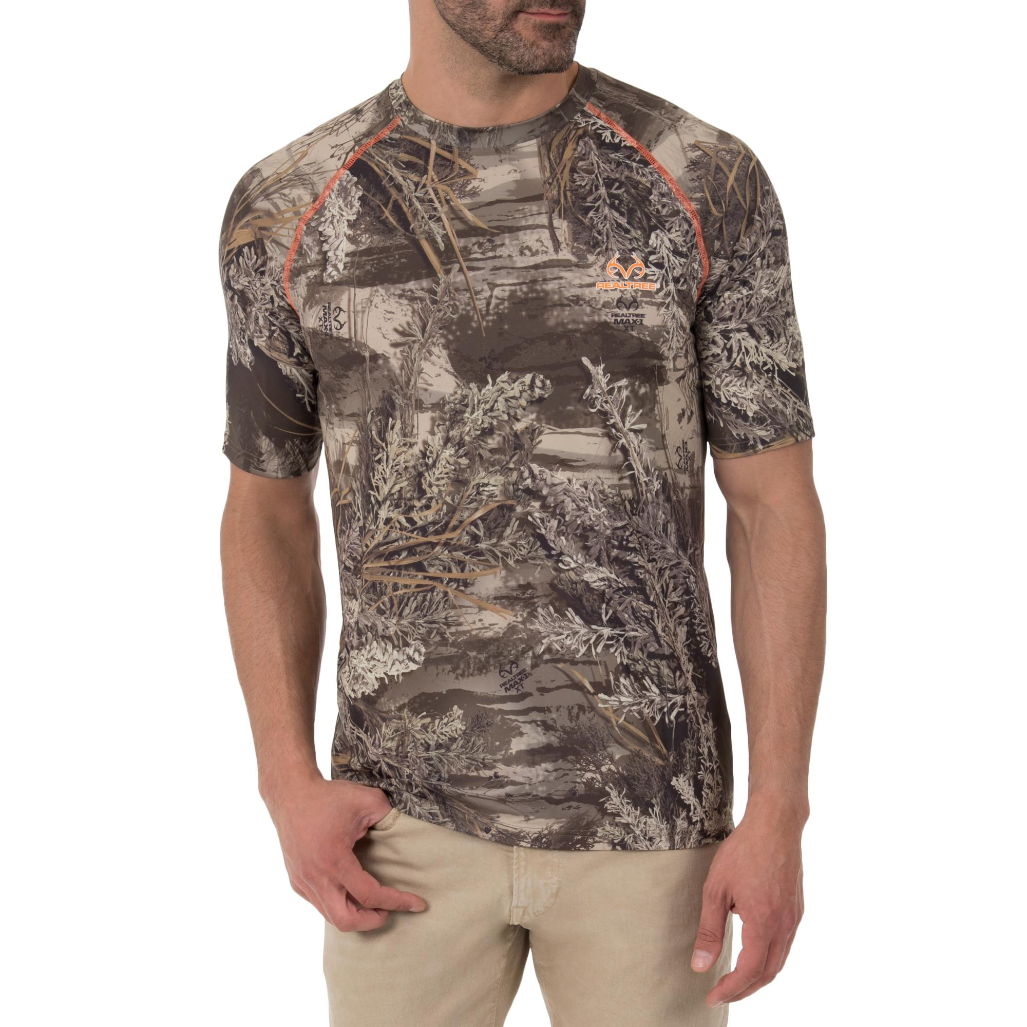 Realtree Insect Repellent Performance Short Sleeve Tee