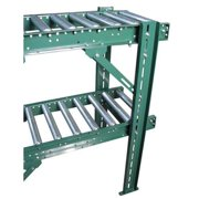 ASHLAND CONVEYOR HMT46B27 Conveyor H-Stand,Multitier,46In Max,27BF