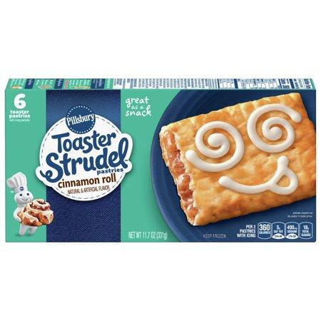 Pillsbury Toaster Strudel Cinnamon Roll Toaster Pastries 6 ...