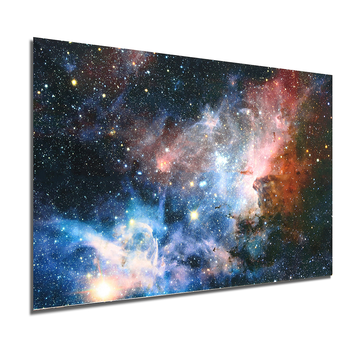 The Solar System Milky Way Silk Poster Planet Universe Space Canvas Art Print