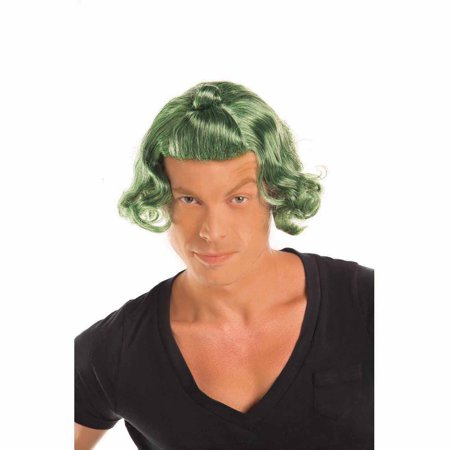 Green Candy Man Wig Halloween Accessory](Lenti Halloween Online)