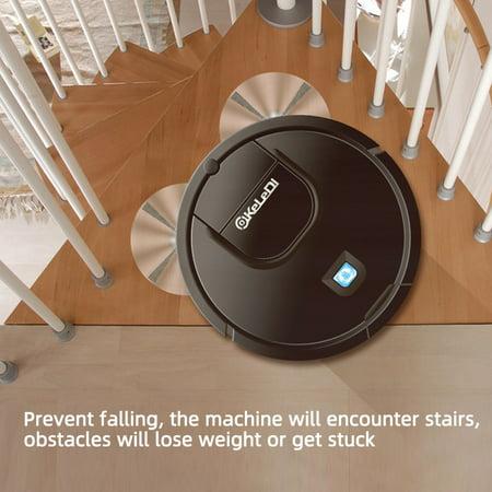 Low Noise 1200pa Smart Floor Robotic Vacuum Cleaner Mop