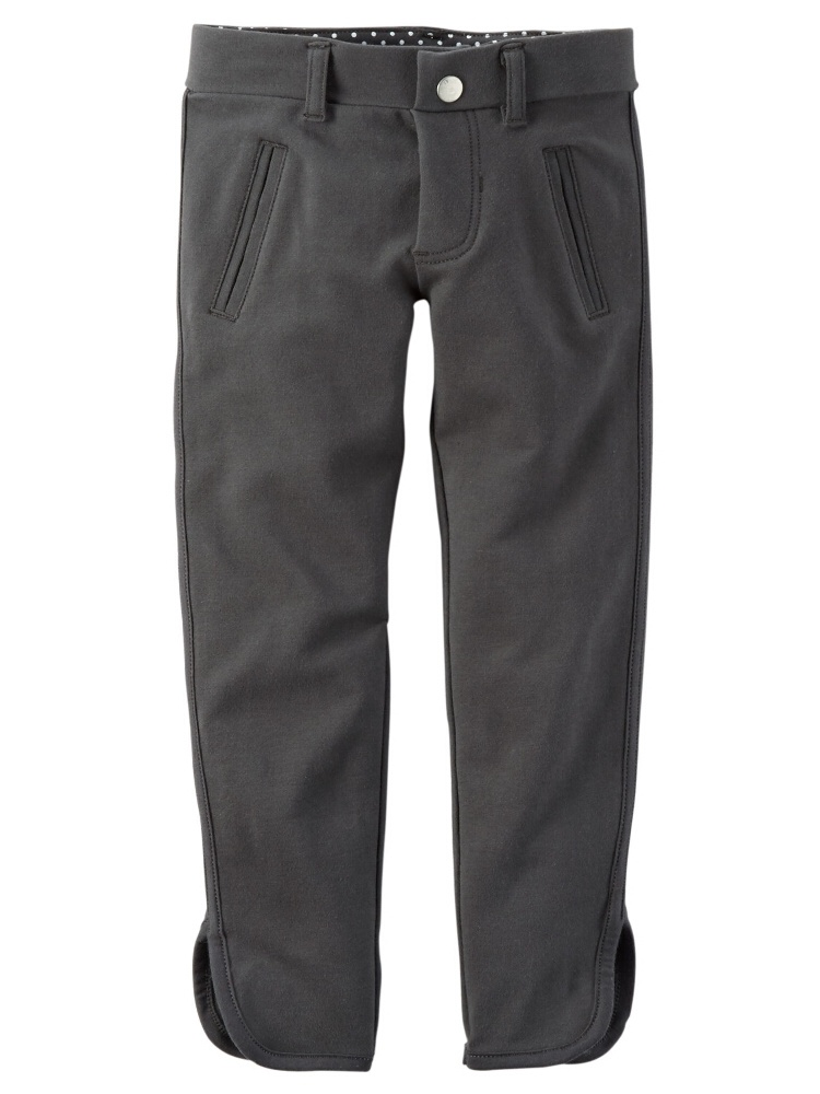 Carters Little Girls French Terry Jeggings