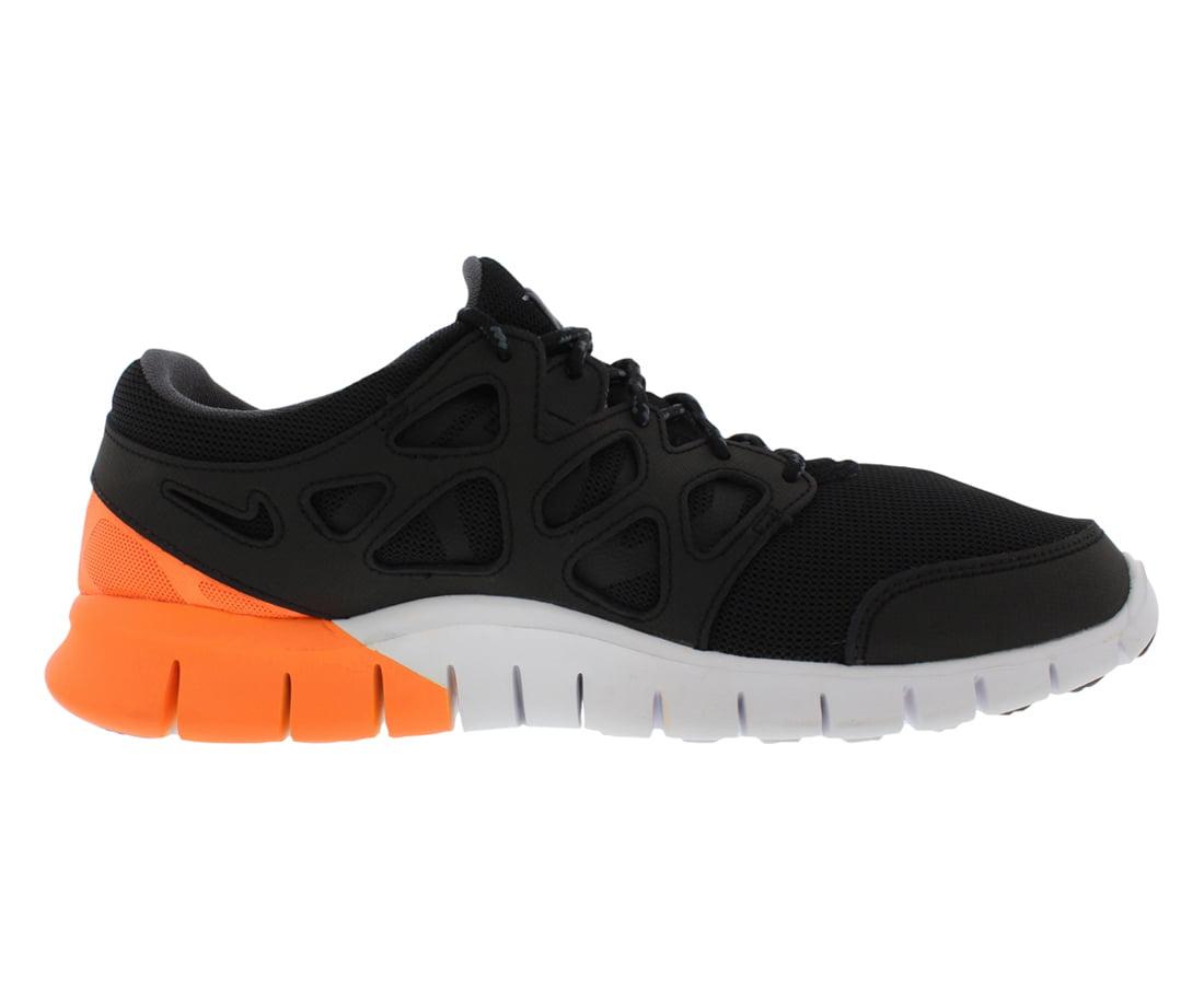 Nike Men's Free Run 2 Black/Irn Prpl/White/Atmc Orng Running Shoe 9.5 Men US