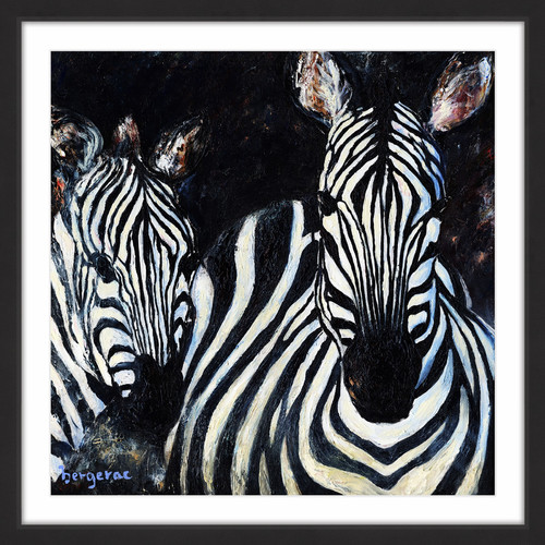"""Marmont Hill """"Keep Your Eyes Open"""" by Bergerac Framed Painting Print"""