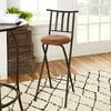 "Mainstays Slat Back Folding 30"" Bronze Bar Stool, Multiple Colors"