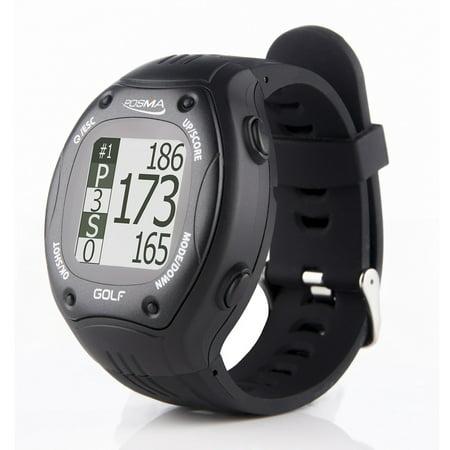 POSMA GT1Plus Golf Trainer GPS Golf Watch Range Finder, Preloaded Europe, America, Asia Golf Courses No