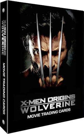 X-Men Origins Wolverine Trading Card Album by