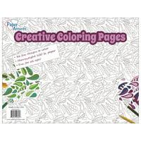 Creative Coloring Pad 8.5x11 36sheet