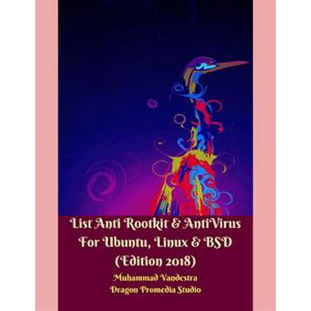 List Anti Rootkit & Antivirus for Ubuntu, Linux & Bsd (Edition 2018) -