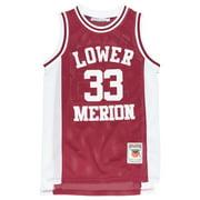 Headgear Kobe Bryant Lower Merion HS Replica Jersey Basketball Mesh Mens Maroon