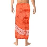 b1df62aeac Beach Wear Mens Sarong Pareo Wrap Cover ups Bathing Suit Cotton Beach Towel  Swim Image 2