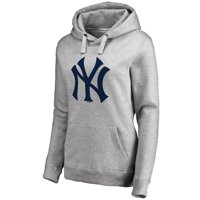 Product Image New York Yankees Women s Secondary Color Primary Logo  Pullover Hoodie - Ash aea8ded0862