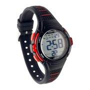 Dakota Two-Tone Moonglow EL Digital Easy Clean Silicone Black Sport Watch for Women and Kids (36821)