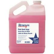 RENOWN BULK HAND SOAP, PINK, 1 GALLON