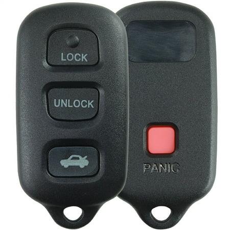 KeylessOption New Keyless Entry Remote Control Car Key Fob Starter Clicker for Dodge Grand Caravan Chrysler Town & Country