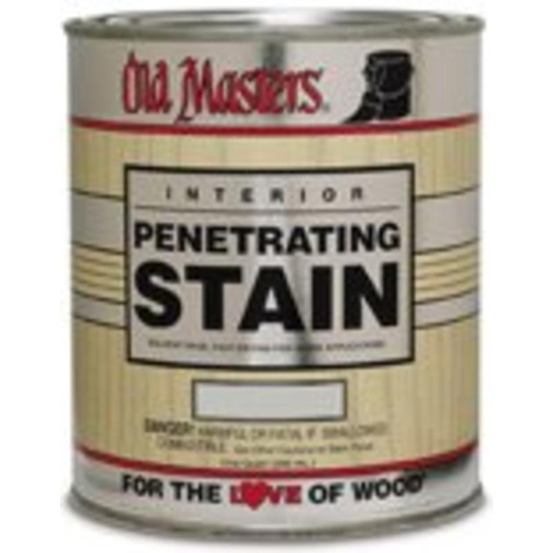 1-Gallon Fruitwood Penetrating Stain Old Master Stain 41301 086348413016