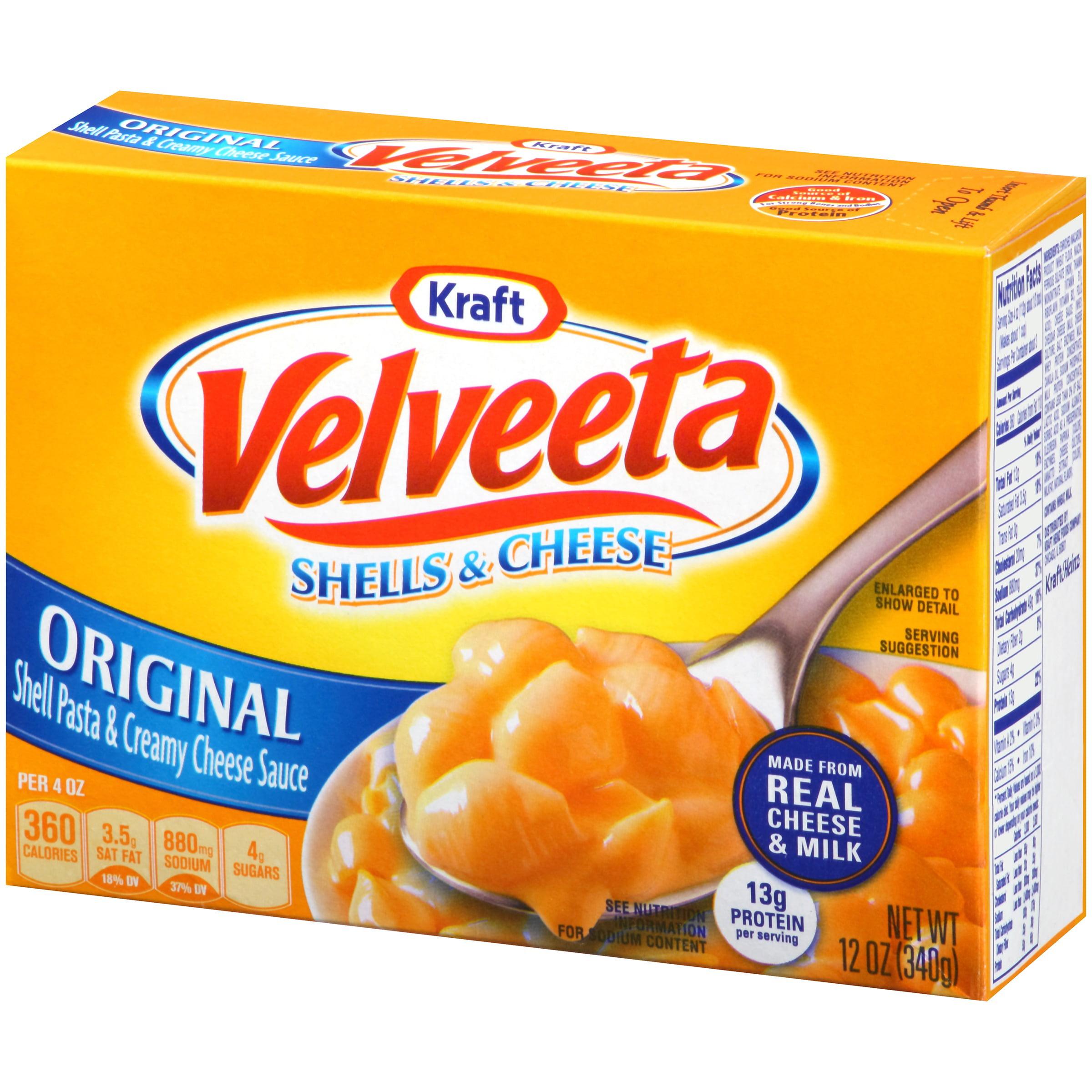 Macaroni Cheese Velveeta Mac And Cheese Box
