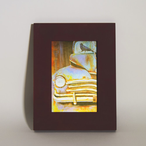 TrekDecor Vintage Pick-up Truck Sublimated Framed Painting Print