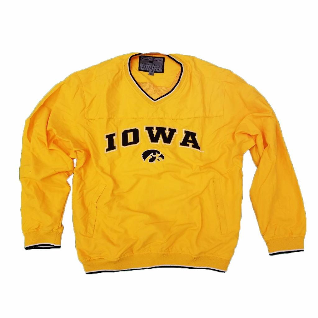 Mens NCAA Iowa Hawkeyes Windbreaker Jacket (Team Color) by Colosseum