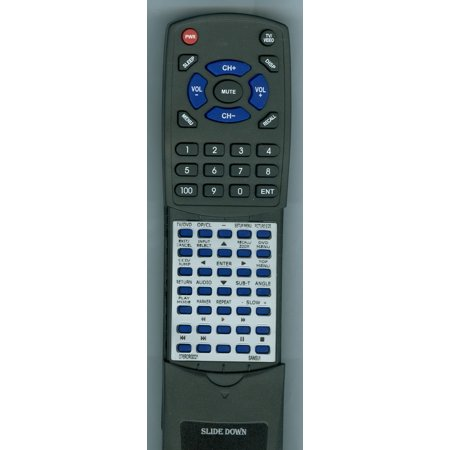 Replacement Remote for SANSUI RT076R0RG021, 076R0RG011, 076R0RG021, SLEDVD198, SLEDVD198A, HDLCDVD328, SLEDVD198B, SLEDVD329, HDLCDVD328B, HDLCDVD265