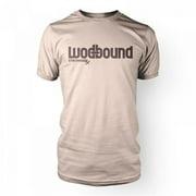 Stronger RX Tan Wodbound Mens Tee Shirt, Medium