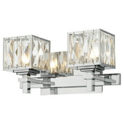 Golden Lighting 1035-BA2 Neeva 2 Light Bathroom Vanity - 12 Inches Wide