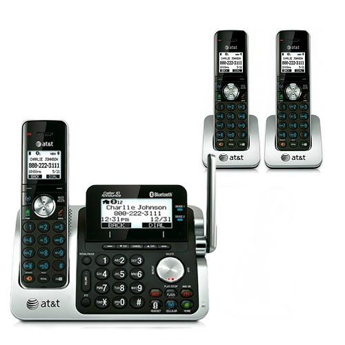 AT&T TL96471 Cordless Phone System by AT&T