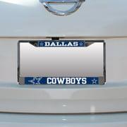 Dallas Cowboys Small Over Large Mega License Plate Frame