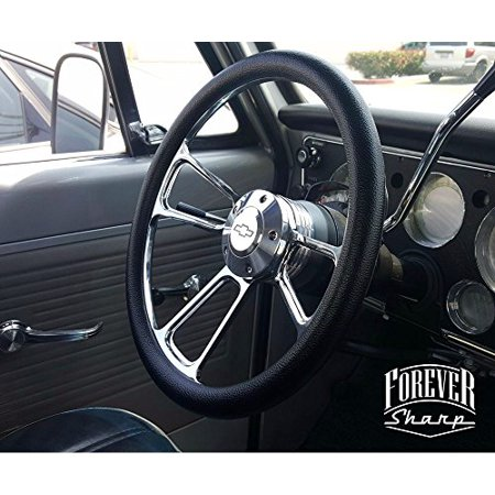 Billet Muscle Chevy Gm 69-94 Steering Wheel Set W/ Chevy Engraved Horn