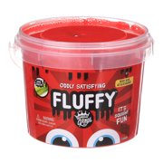 Compound Kings Fluffy Red Slime Bucket (3 lbs)