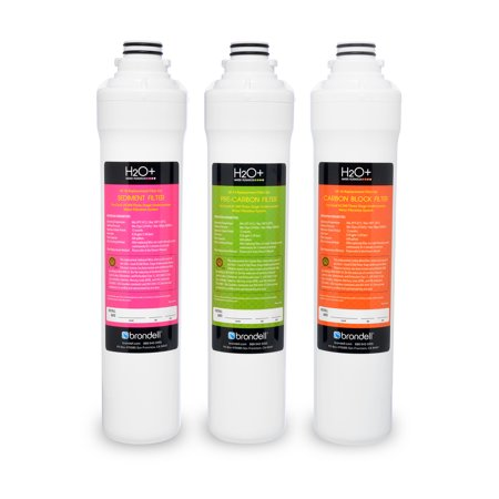 H2O+ Coral Three-Stage Replacement Filter Set (3 Filters) - image 1 de 1