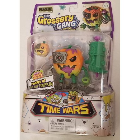 Grossery Gang The Time Wars Action Figure - Space Jump Pumpkin (Ghostbusters Pumpkin)