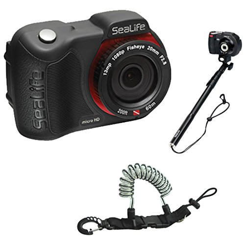 Sealife Micro HD 13mp Underwater Camera 16gb w/ AquaPod U...