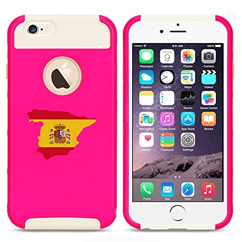 Apple iPhone 6 Plus   6s Plus Shockproof Impact Hard Case Cover Spain Spanish...