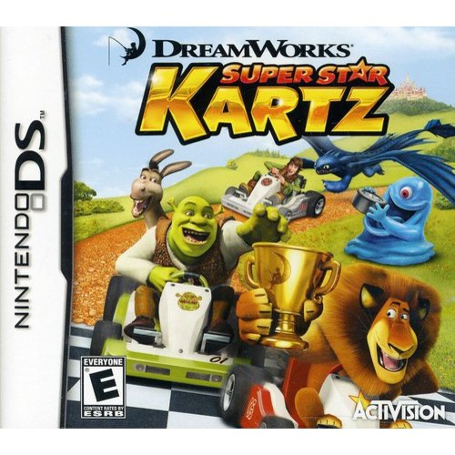Super Star Kartz - Dreamworks (DS)