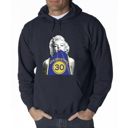 wholesale dealer 39d2f b2be7 503 - Hoodie Marilyn Monroe Stephen Curry Basketball Series Sweatshirt