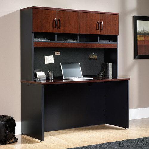 Sauder Via Computer Desk with Hutch