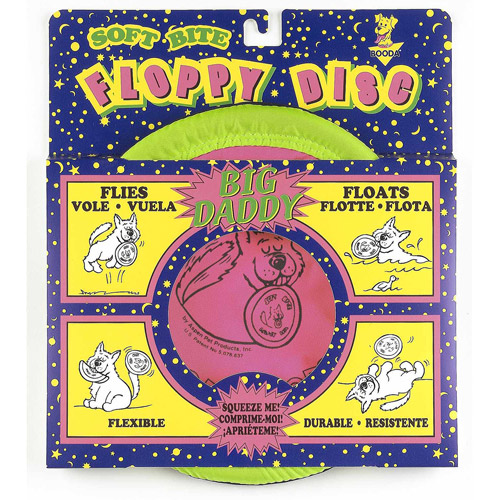 Petmate Doskocil Co. Inc. Floppy Disc Dog Toy, Large