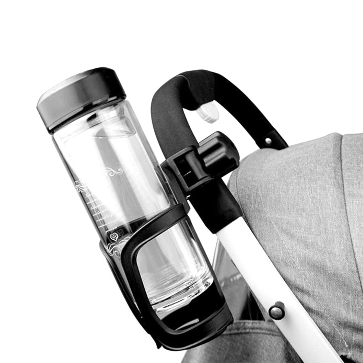 Bicycle Bottle Holder Cycling Water Bottle Rack Universal Stroller Cup HolderYW