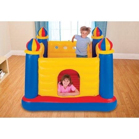 Intex Inflatable Colorful Jump-O-Lene Kids Castle Bouncer for Ages 3-6 | 48259EP - image 1 of 7