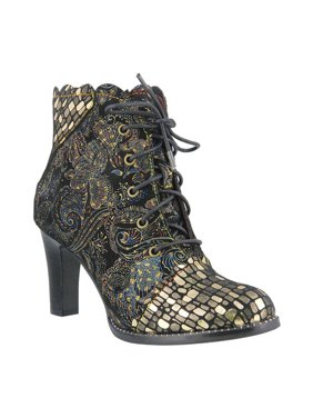 Women's L'Artiste by Spring Step Glitterail Ankle Boot
