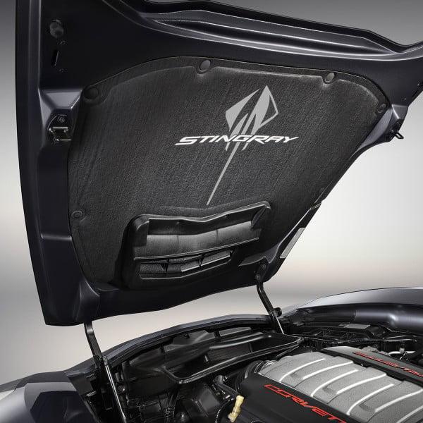 C7 Corvette Stingray 2014+ Stingray Logo Hood Liner